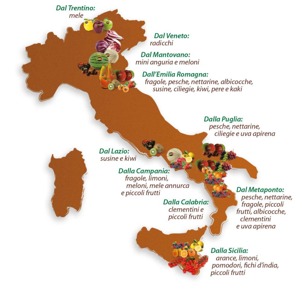 Cartina prodotti Solarelli